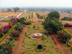 Garden, View, Flora, Trees, Frontage, Patwardhan Palace