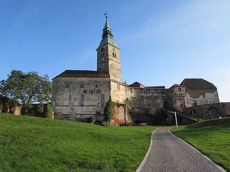 Castle, Fortress, Austria, Güssing
