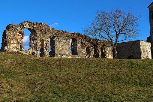 Castle Wall, Castle, Güssing