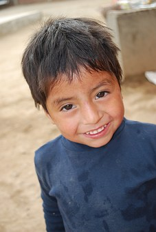 New Steps, Peru, Children, Ngo, Guy, Ball, Face, Smile