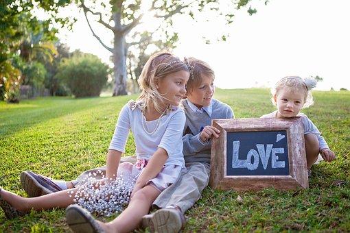 Happy, Children, Girl, Boy, Kids, Chikdren, Sister