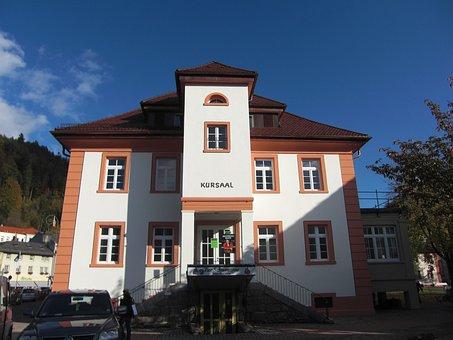 Black Forest, St Blasien, Kurhaus, Kursaal