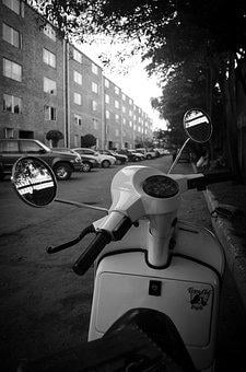 Scooter, Moto, Old, Speed, Motorcycle, Vehicle, Mitico