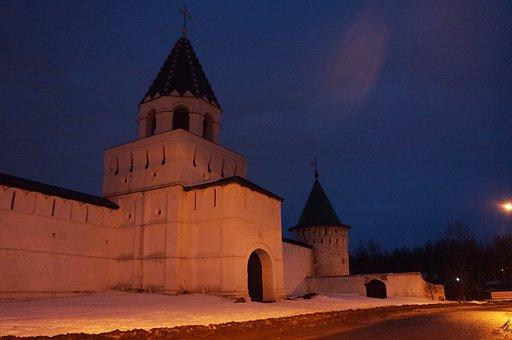 Kostroma, Night, Monastery