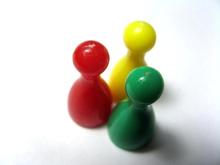 Figures, Group, Play, Pieces, Set