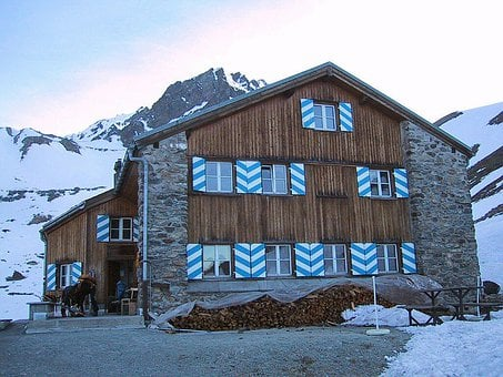 Mountain Hut, Rest House, Hut, Berghaus, Tuoihuette