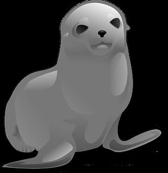 Seal, Sealion, Sea Lion, Sea Mammal, Otaria Byronia