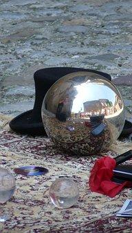 Metallic Ball Approached, Hat, Showmypc