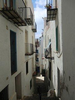 Houses, Streets, Architecture, Housing, Peñíscola