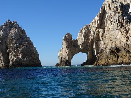 Los Cabos, Mexico, Beach, Rock Formation
