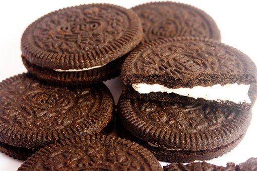 Cookies, Biscuits, Chocolate, Cream, Food, Sweet