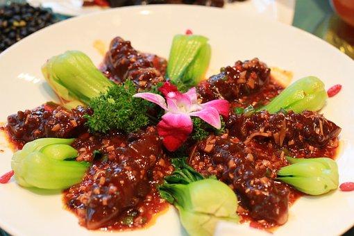Gourmet, Vegetarian Food, Sea Cucumber, Feast