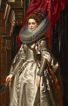 Peter Ruebens, Marchesa Brigida Spinola-doria, Woman