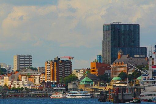 Hamurg, Port, Harbor View, Port Quarter