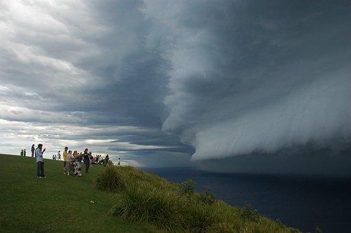 Storm, Clouds, Weather, Sky, Rain, Bald Hill