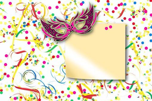 Streamer, Confetti, Mask, Text Box, Stickies