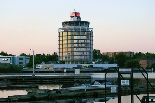 Tower, Harbour, Marina, Water, Building, Tourism