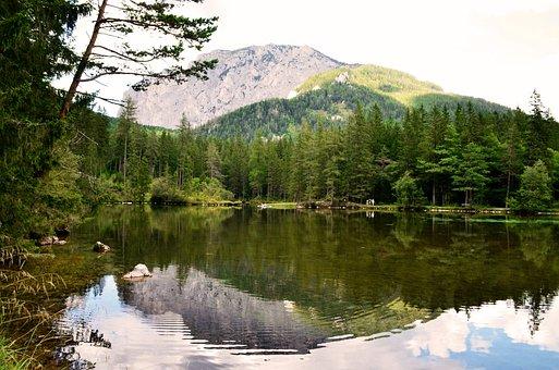 Lake, Tragöss, Water