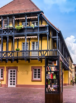 Building, Home, Yellow, Architecture, Germany