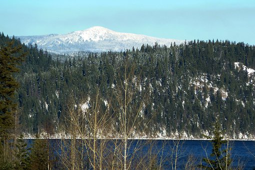 Spanish Mountain, Canim Lake, British Columbia, Canada