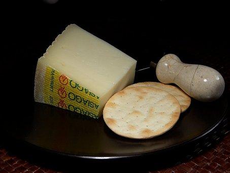 Asiago Pressato, Cheese, Milk Product, Food, Ingredient