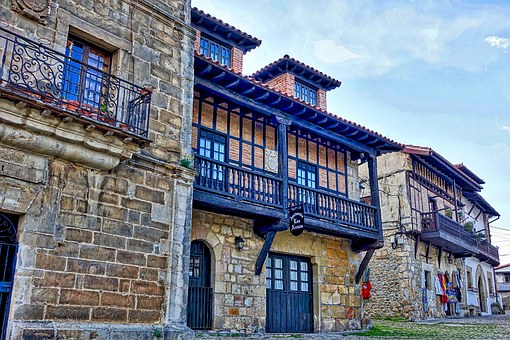 Medieval, Building, Historic, Stone, Wooden, Old