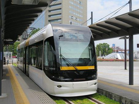 Toyama, Train, Traffic, Lrt