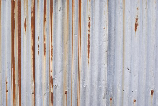 Wave Plate, Rust, Rusted, Pilot, Metal, Plate