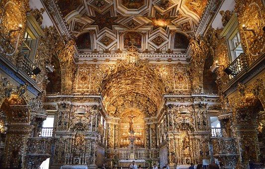 Church, San Francisco, Pelourinho, Salvador, Bahia