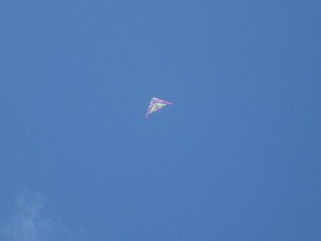 Kite, Flying, Fun, Outdoor, Summer, Activity, Joy, Fly