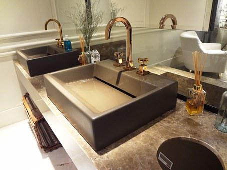 Bathroom, Washbasin, Pia