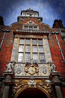 Entrance, Facade, Blickling Estate, Palace, Heritage