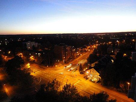 Gain, Streets, Night