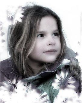 Beauty, Girl, Woman, Beautiful, Portrait, Little Girl