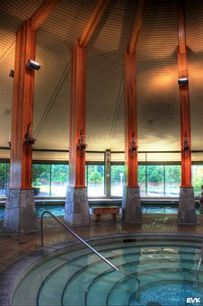 Indoor, Pool, Harrison, Hotsprings, Architecture