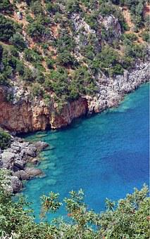 Greece, Island, Cephalonia, Kefalonia, Blue, Sea, Bay
