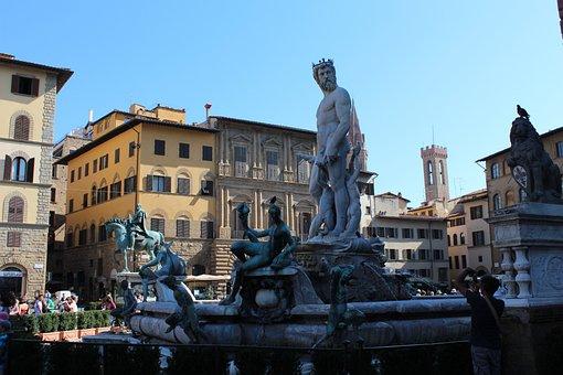 Piazza Della Signoria, Florence, Italy, Landmark