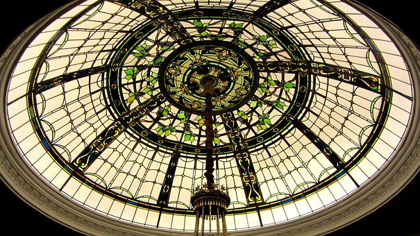 Metropolitan Museum Of Art, Manhattan, Dome, Glass