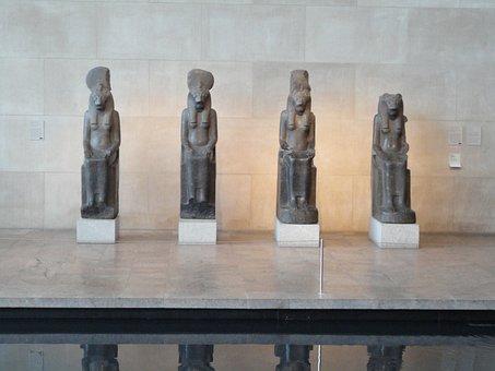 Statues, Museum, Metropolitan, History