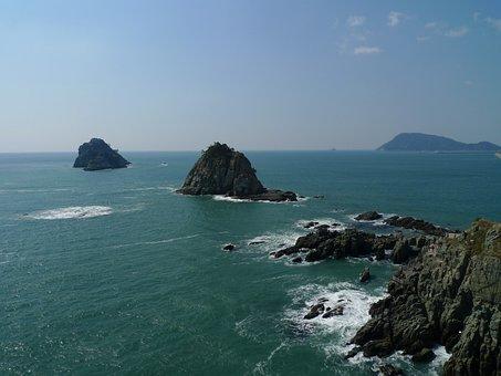 Sea, Gwangalli, Waves