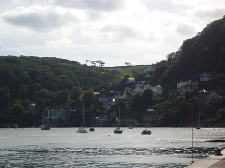 Dartmouth, Devon, Seaside, Boats, Landscape, Sea