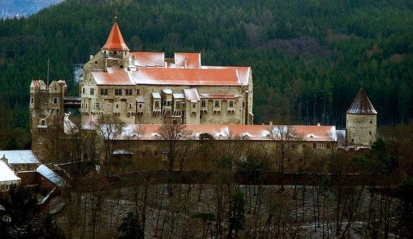 Castle, Old Building, Monument, View, Tourism