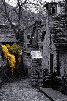 Italy, Domodossola, Coimo, Village