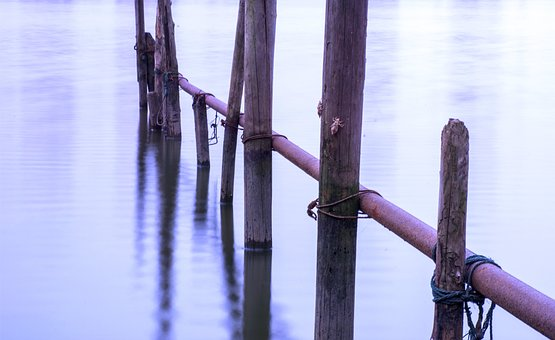 Watermark, Railing, Wood