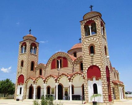 Cyprus, Agklisides, Church, Orthodox, Architecture
