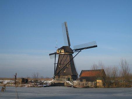 Kinderdijk, Holland, Molina