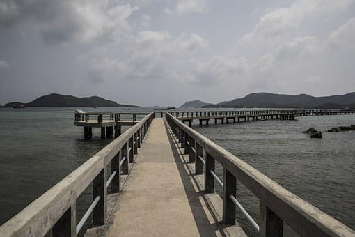 The Pier, Gulf Of Thailand, Landscapes