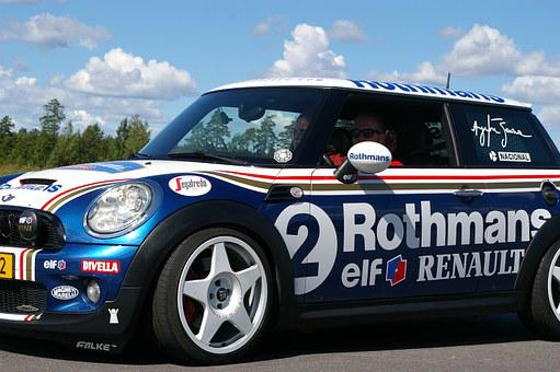 Minicooper, Car, Sports, Race, Team