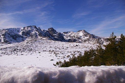 Snow, Serra, Winter, Mountain, Winter Landscape, Depth