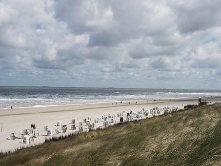 Spiekeroog, Beach, Coast